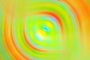 Abstract blurred multicolored swirl