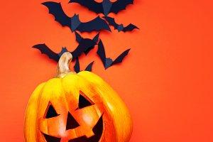 Happy Halloween. Halloween concept,