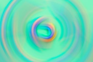 Abstract blurred multicolored whirl