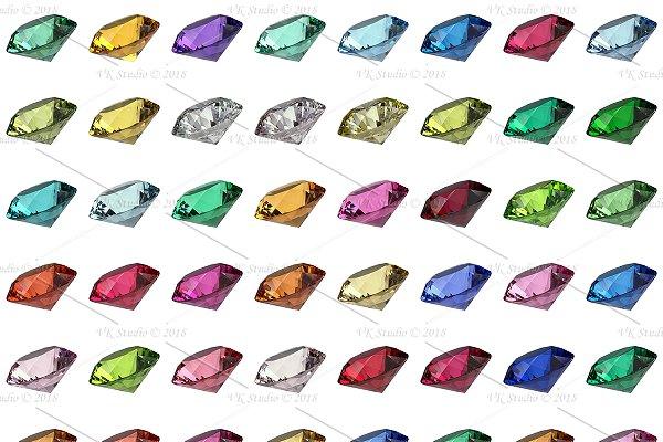 3D Rock - Gemstone Materials ESSENTIAL VRayMax