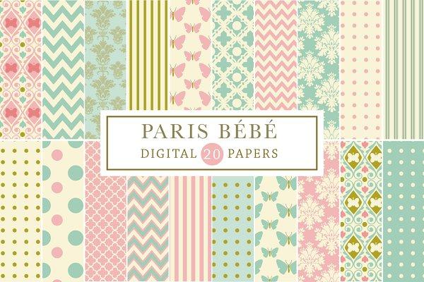 Paris Bebe Backgrounds