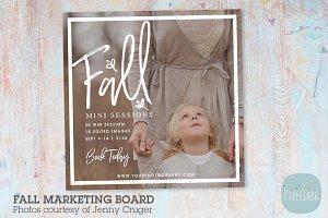 IW029 Fall Marketing Board