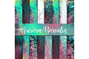 Aurora Borealis Digital Paper