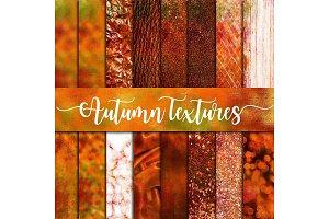 Fall Textures Digital Paper