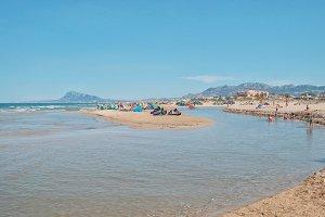 Oliva's beach, Spain