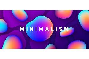Minimal abstract design