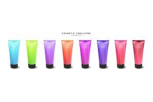 Cream or lotion tube
