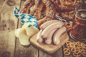 Oktoberfest concept - traditional