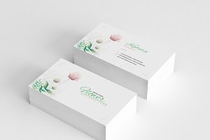 Creative Floral Business Card