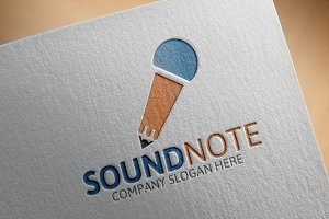 Sound Note Logo