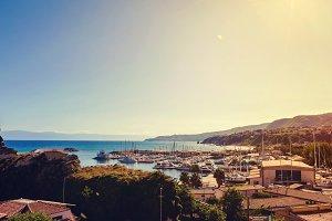 The Tourist Port of Tropea