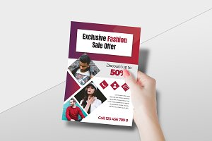 Exclusive Fashion Sale Flyer