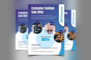 Fashion Sale Discount Flyer