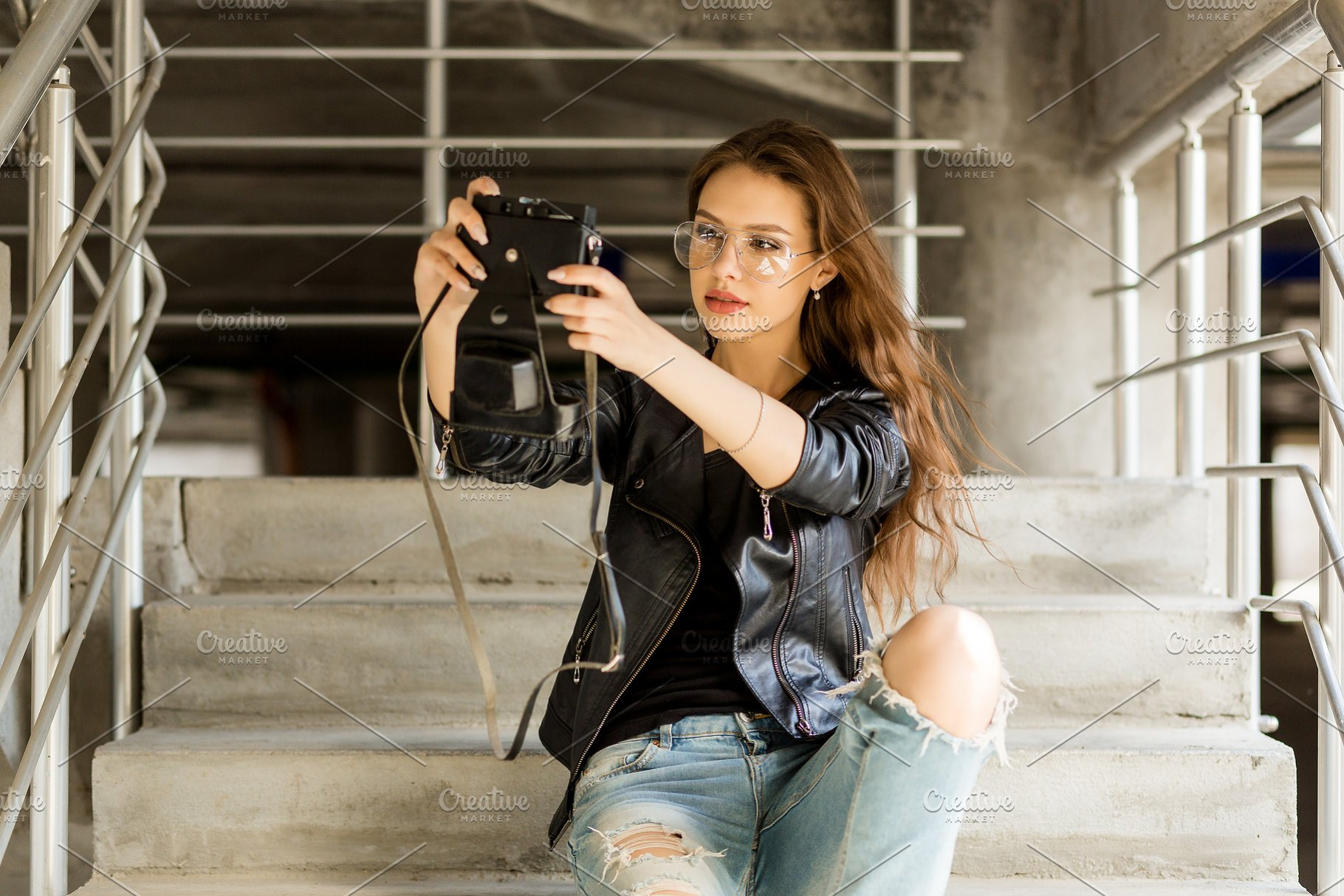 Fashion Urban Style Hipster Girl Beauty Fashion Photos