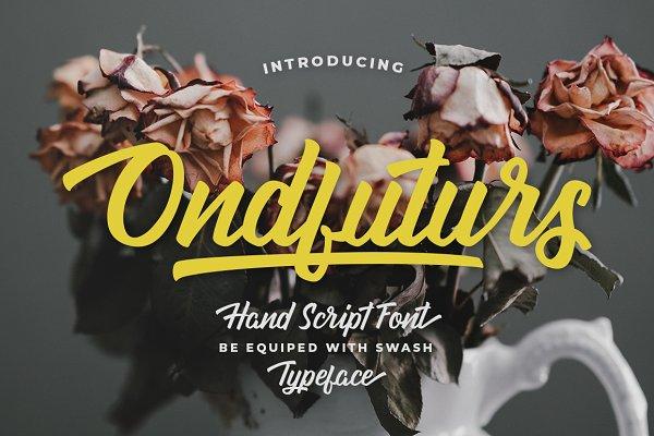Script Fonts: maculinc - Ondfuturs Script
