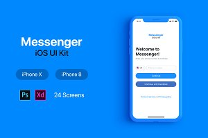 Messenger iOS UI Kit
