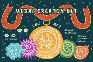 You Are Awesome: Medal Creator Kit
