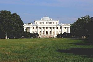 Facade of a Elaginostrovsky Palace