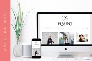 Flaunt -Fashion Blog WordPress Theme