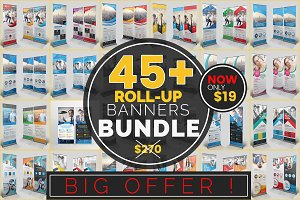 45+ Roll-Up Banners - Mega Bundle