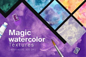 84 Magic Watercolor Textures