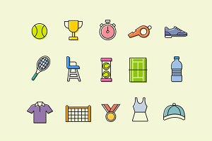 15 Tennis Icons