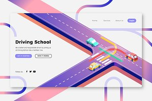 Driving School - Banner Page