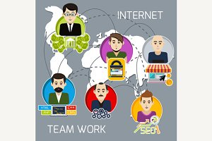Internet Team Work