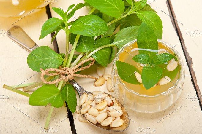 Arab middle east mint tea and pine nuts 005.jpg - Food & Drink