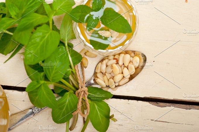 Arab middle east mint tea and pine nuts 015.jpg - Food & Drink