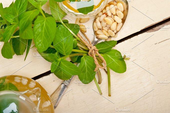 Arab middle east mint tea and pine nuts 016.jpg - Food & Drink