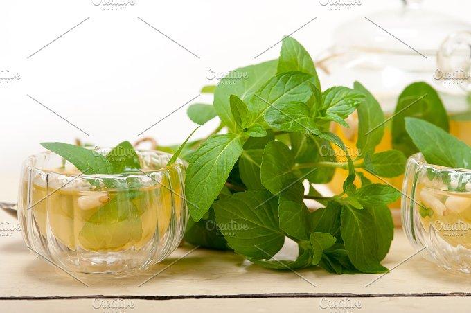 Arab middle east mint tea and pine nuts 020.jpg - Food & Drink