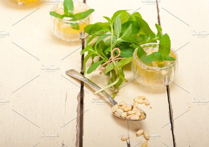 Arab middle east mint tea and pine nuts 035.jpg - Food & Drink