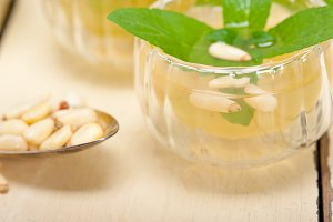 Arab Moroccan middle east mint tea and pine nuts 005.jpg