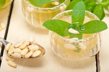 Arab Moroccan middle east mint tea and pine nuts 006.jpg