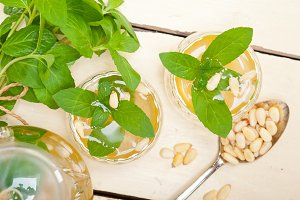 Arab Moroccan middle east mint tea and pine nuts 021.jpg