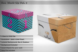 Box Mock-Up Vol 2