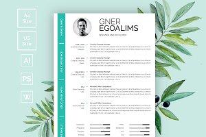 Modern Resume/CV Template