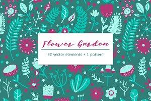 FLOWER GARDEN – Graphics + Pattern