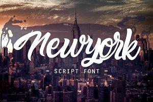 newyork script font 40% off