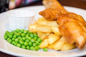 English Food,  Fish and Chips