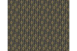 Texture golden pattern art deco.