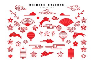 Traditional Chinese design elements