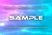 Pink and blue geometric background