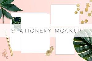 Stationery Card Invitation Mockup
