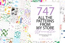 747 PATTERN BUNDLE by  in Patterns