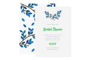 Template Bridal Shower Invitation