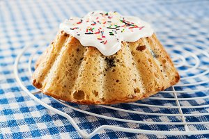 Kulich, Russian Easter bread with a