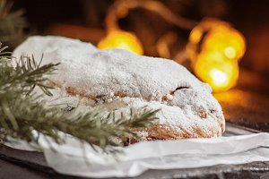 Dresden Stollen is a Traditional Ger