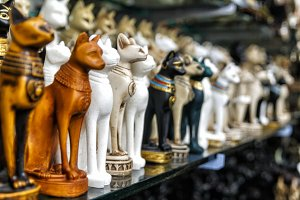 Beautiful photo of souvenir shops in
